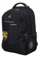Повседневный черный рюкзак с нашивкой ВМФ
