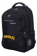 Повседневный городской рюкзак с нашивкой МВД - купить выгодно