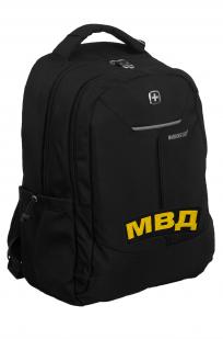 Повседневный городской рюкзак с нашивкой МВД - заказать выгодно