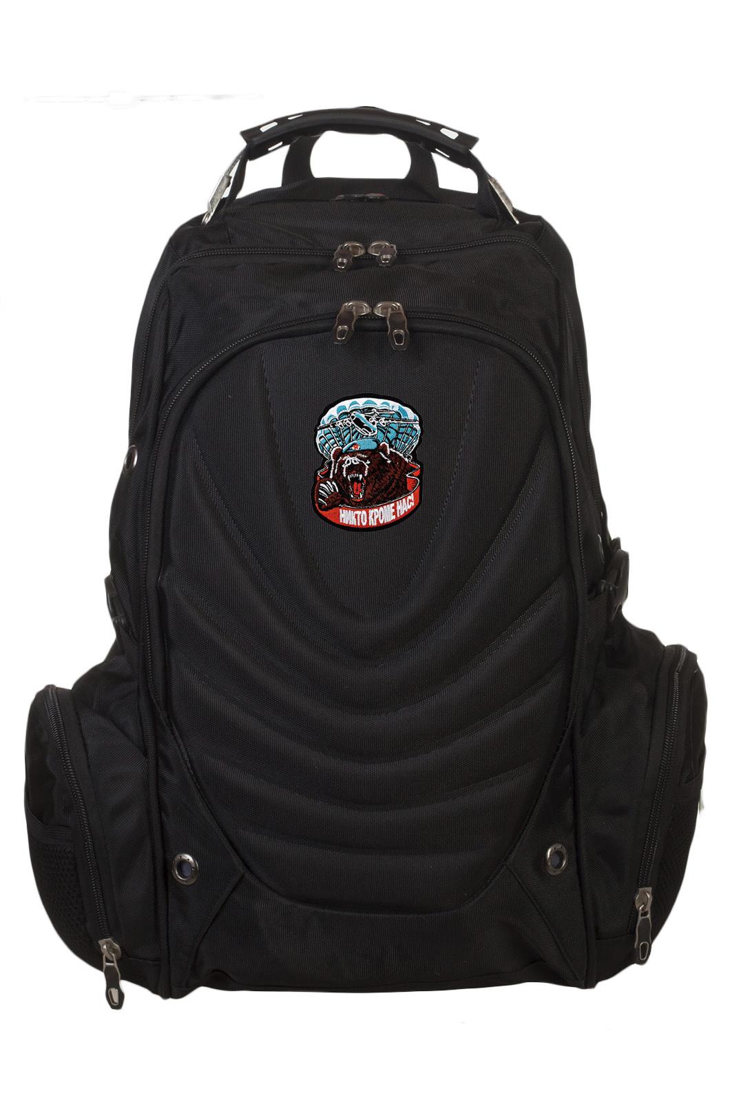 Повседневный мужской рюкзак с нашивкой ВДВ