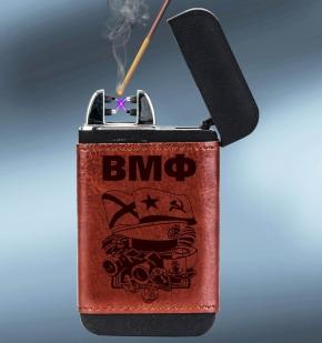 Зарядное устройство Powerbank с зажигалкой в чехле ВМФ