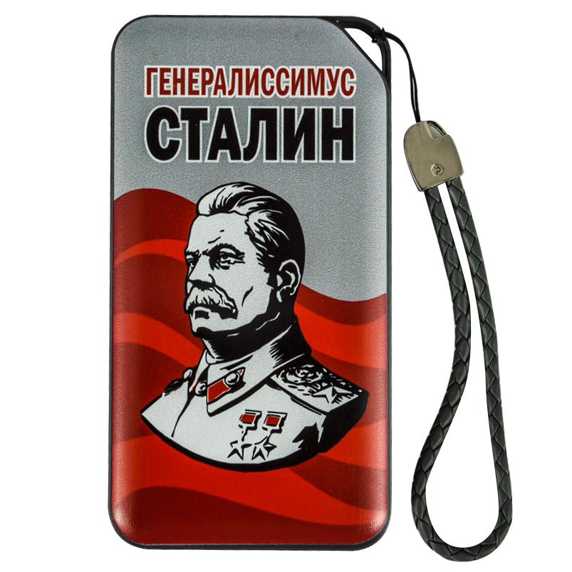 Внешний аккумулятор PowerBank с профилем Сталина