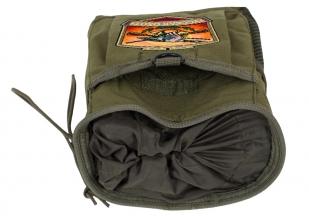 Поясная надежная сумка для фляги с нашивкой Русская Охота - купить в Военпро