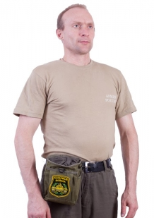 Надежная поясная сумка для фляги с нашивкой Танковые Войска - купить по низкой цене