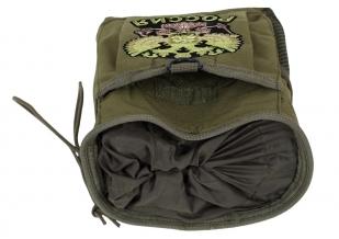 Поясная сумка для фляги с нашивкой Герб России - заказать онлайн