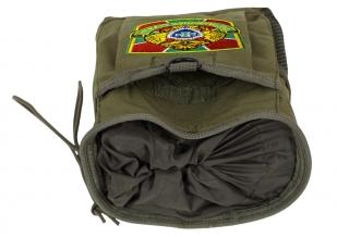Поясная сумка для фляги с нашивкой Погранслужбы - купить оптом