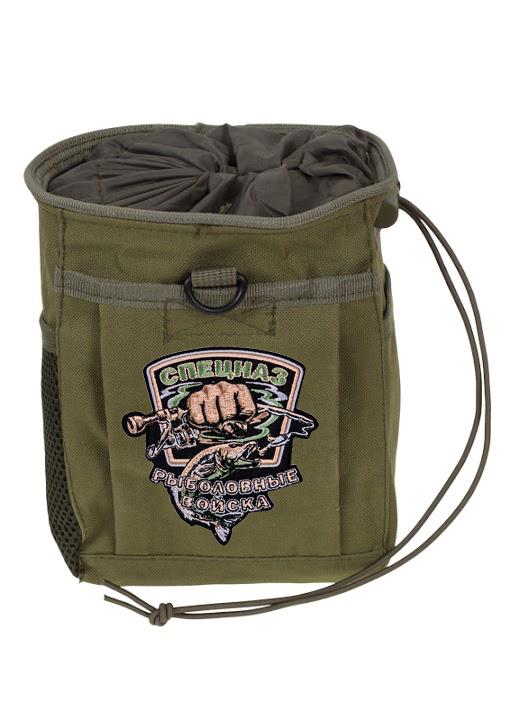 Поясная сумка для фляги с нашивкой Рыболовных войск