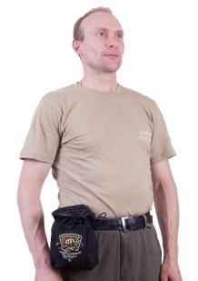 Поясная сумка для фляги с шевроном рыболовных войск купить по сбалансированной цене