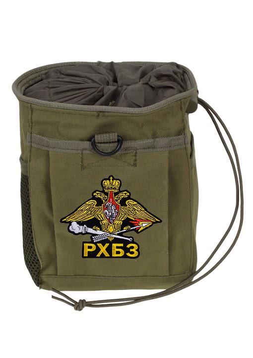 Поясная сумка для фляги в цвете хаки с эмблемой РХБЗ