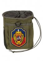 Поясная сумка под флягу с нашивкой Уголовного розыска