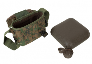 Поясная сумка с флягой камуфляж Marpat