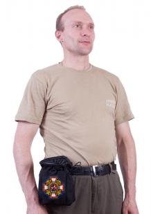 Поясная зачетная сумка для фляги с нашивкой Потомственный Казак - заказать с доставкой