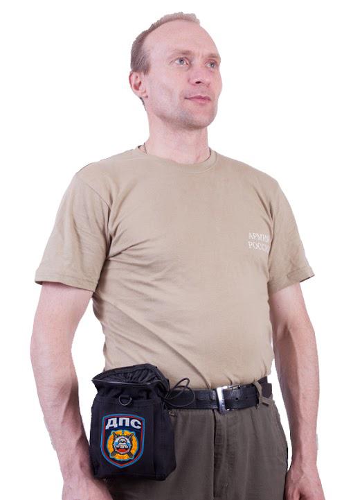 Поясной крутой чехол для фляги с нашивкой ДПС - заказать в розницу