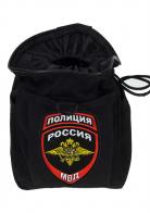 Поясной надежный чехол для фляги с нашивкой Полиция России