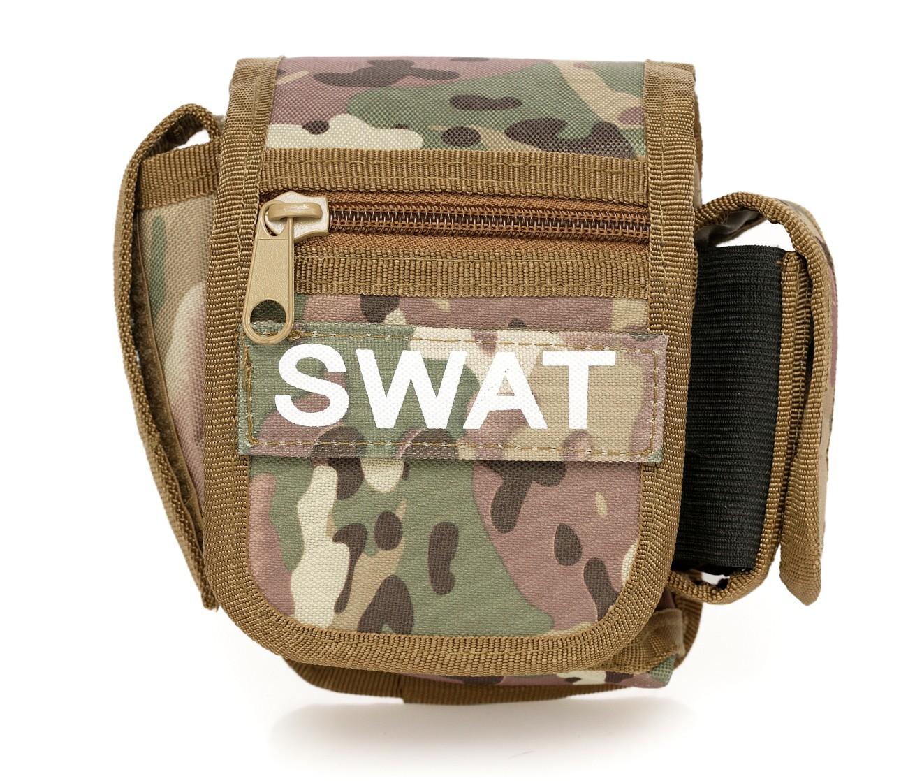 Поясной подсумок SWAT камуфляж недорого