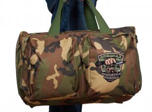 Практичная дорожная сумка-рюкзак с шевроном Охотничьего спецназа купить в подарок