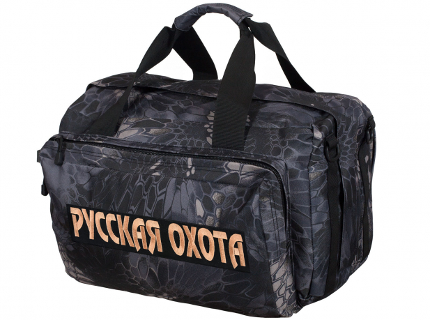 Практичная дорожная сумка с нашивкой Русская Охота - купить онлайн