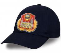 Практичная кепка с оригинальным принтом «Рожден в СССР»