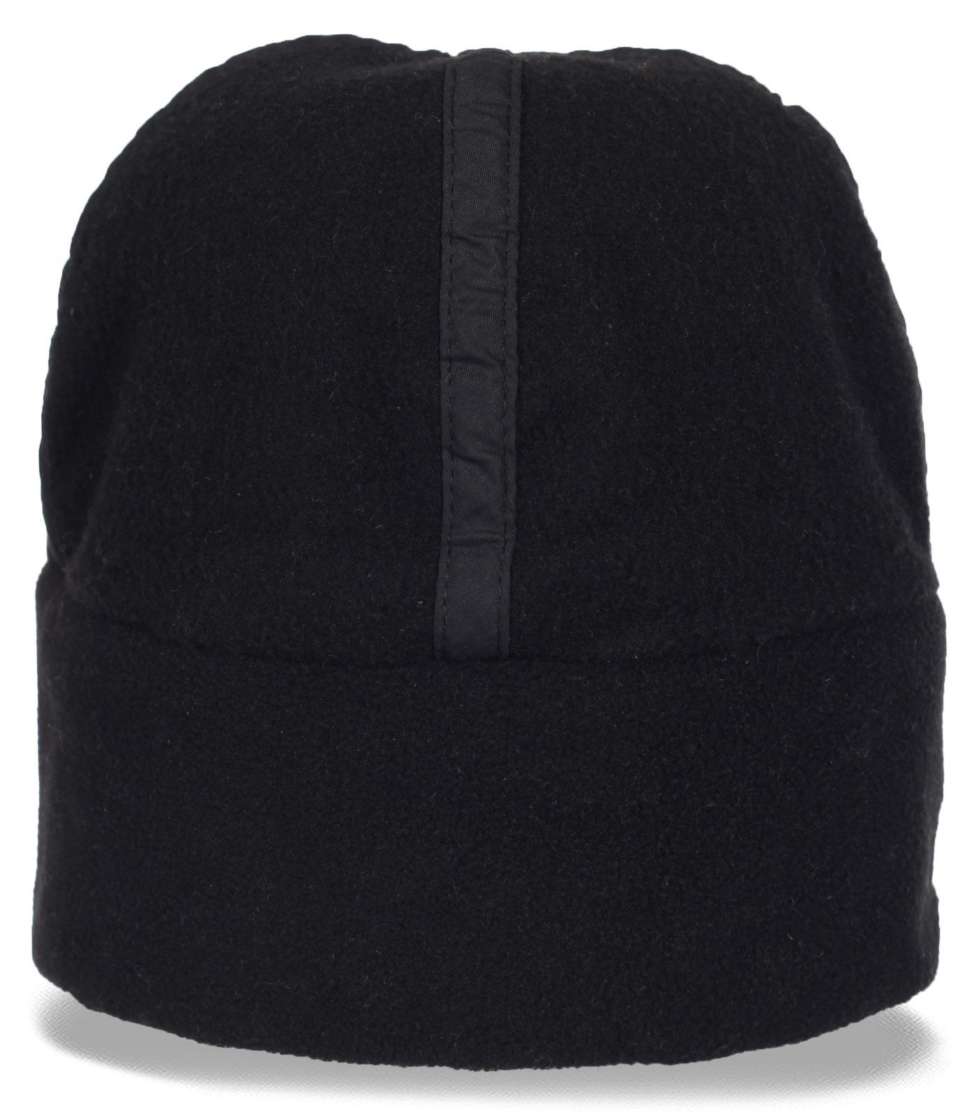 Практичная мужская флисовая шапка