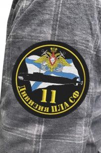 Практичная мужская рубашка с эмблемой 11-ой Дивизии ЦЛА СФ купить в розницу
