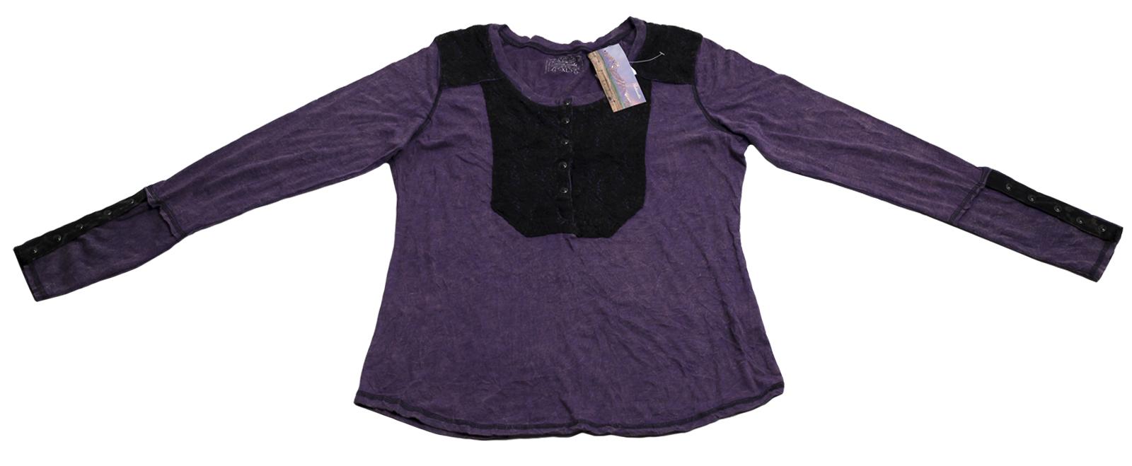 Практичная повседневная кофточка приятного лилового цвета бренда Panhandle