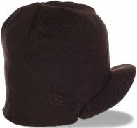 Практичная шапка-кепка в лаконичном мужском стиле. Теплый головной убор на каждый день
