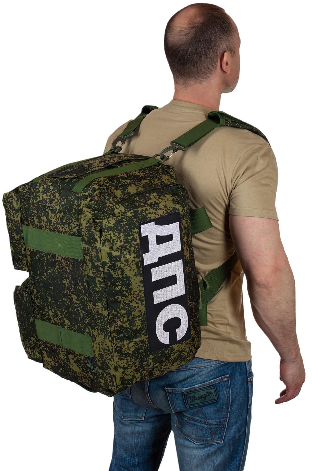 Купить практичную тактическую сумку с нашивкой ДПС по лучшей цене