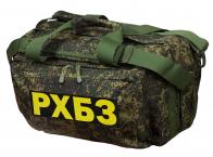 Практичная тактическая сумка с нашивкой РХБЗ