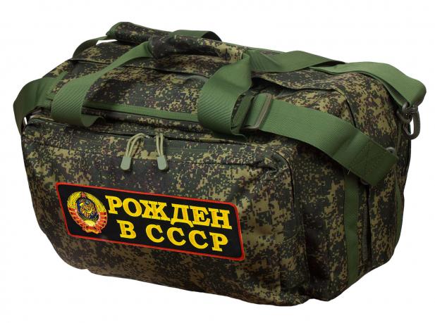 Практичная тактическая сумка с нашивкой Рожден в СССР - купить в подарок