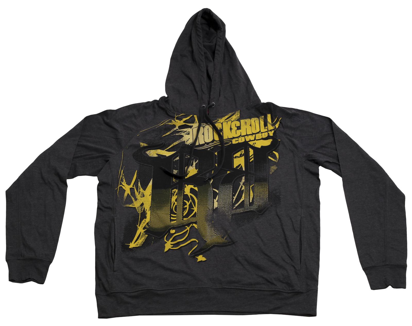 Практичное худи с капюшоном бренда Rock&Roll CowBoy популярная модель