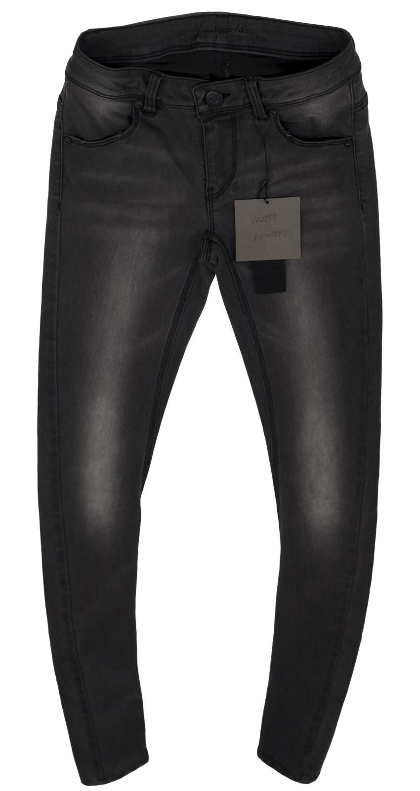 Практичные джинсы Vila. Модный покрой, стильный цвет