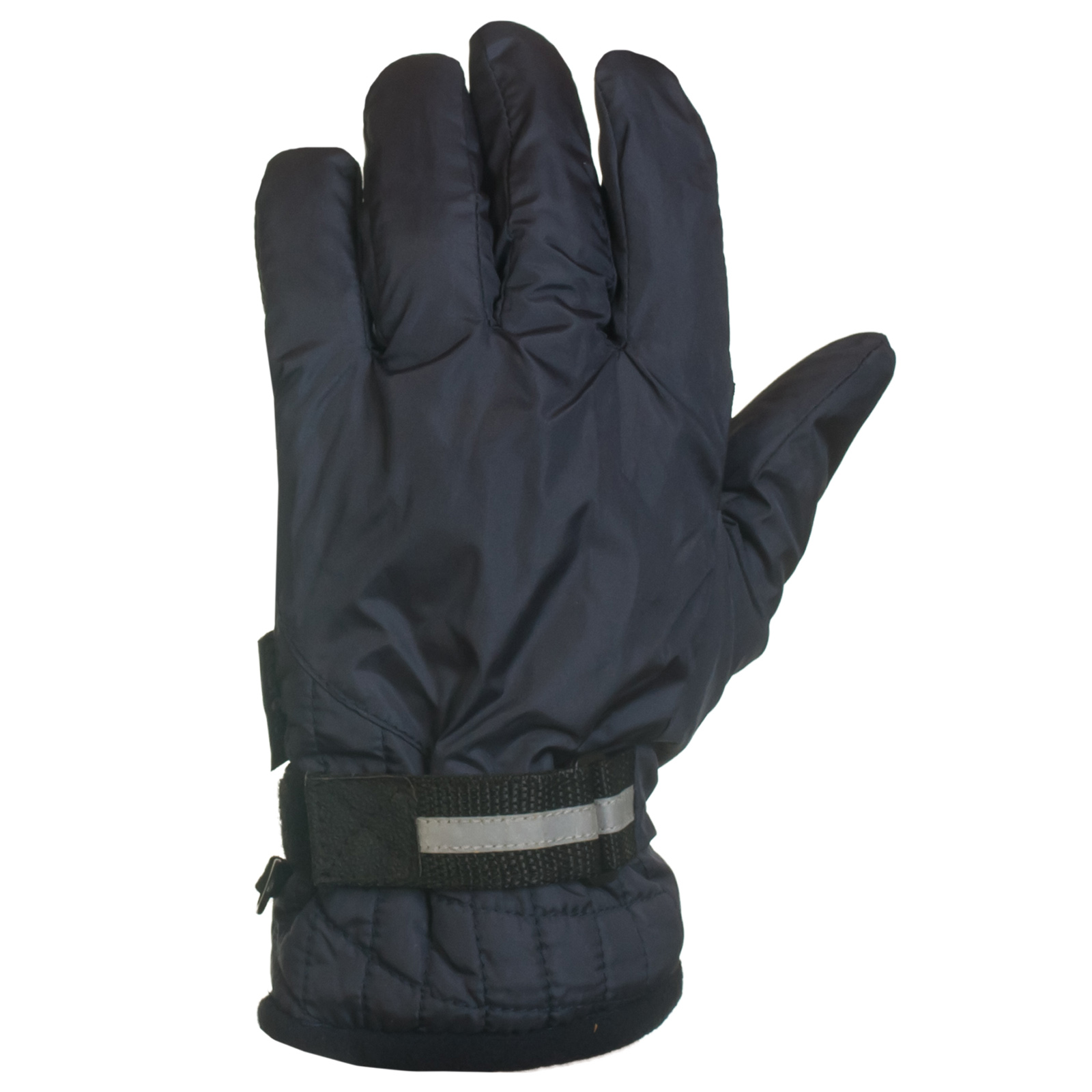 Практичные синие перчатки с фиксатором на запястье