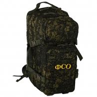 Практичный армейский рюкзак с нашивкой ФСО - заказать онлайн