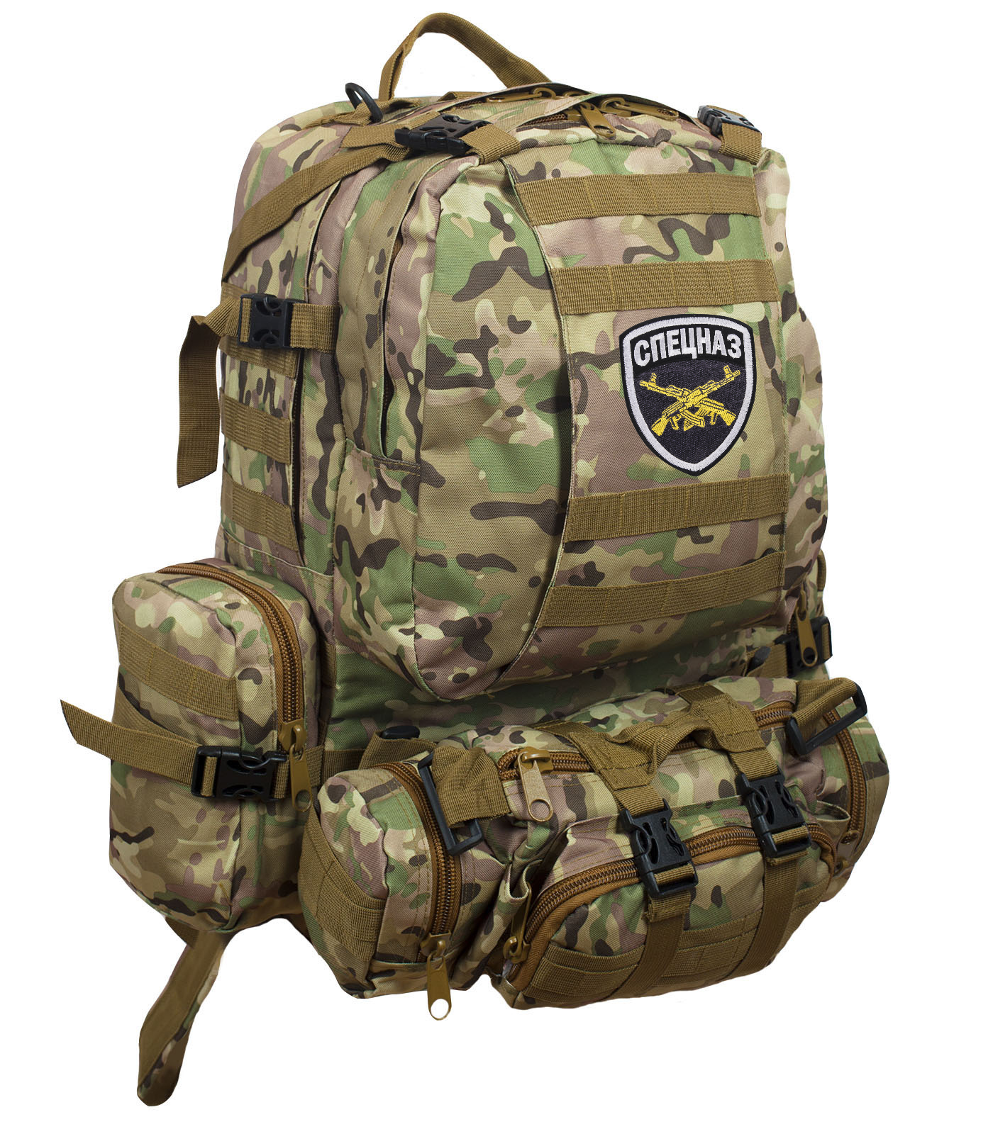 Практичный армейский рюкзак СПЕЦНАЗ от ТМ US Assault - купить в подарок