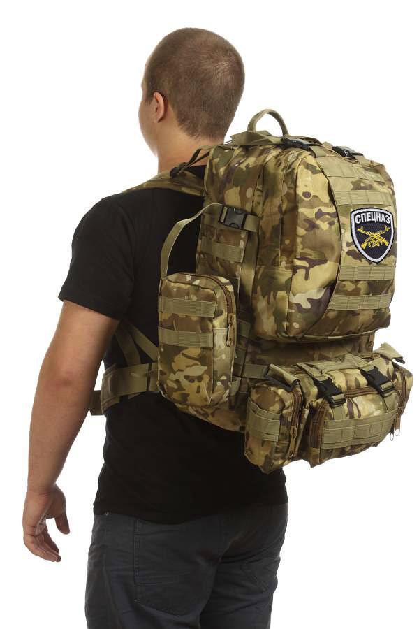 Практичный армейский рюкзак СПЕЦНАЗ от ТМ US Assault - купить с доставкой