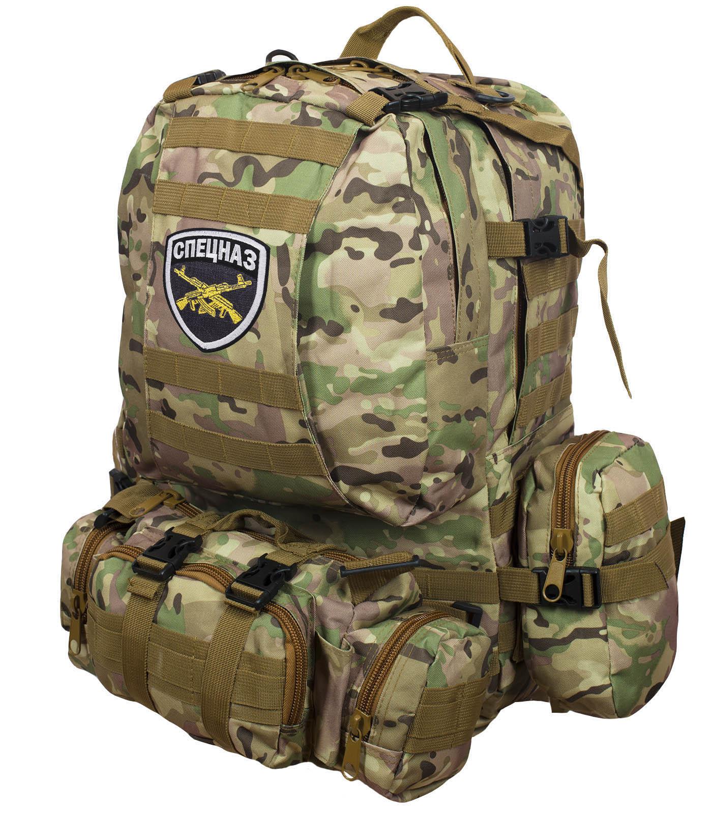 Практичный армейский рюкзак СПЕЦНАЗ от ТМ US Assault - купить выгодно