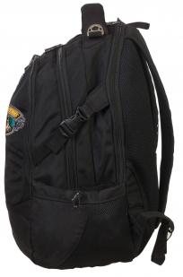 Практичный черный рюкзак с нашивкой Лучший Охотник - заказать онлайн