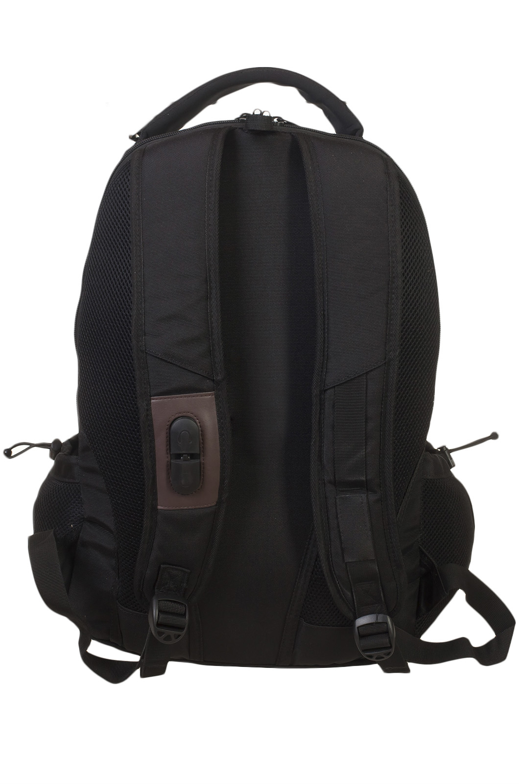 Практичный черный рюкзак с нашивкой Лучший Охотник - заказать в розницу