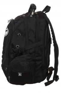 Практичный черный рюкзак с нашивкой ОПЛОТ Спецназ - купить с доставкой