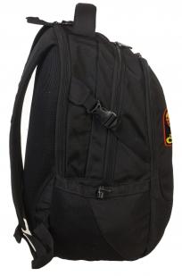 Практичный черный рюкзак с нашивкой Рожден в СССР - купить по низкой цене
