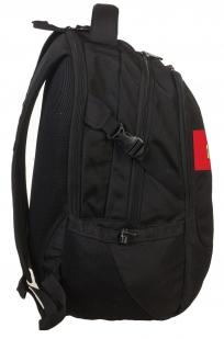 Практичный черный рюкзак с нашивкой Спецназ - заказать выгодно
