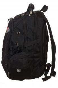 Практичный черный рюкзак  с рыбацкой фразой купить в подарок