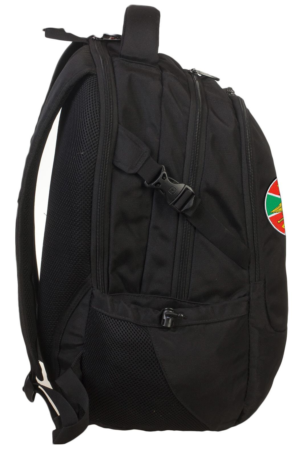 Практичный городской рюкзак с нашивкой Погранвойска - купить по низкой цене