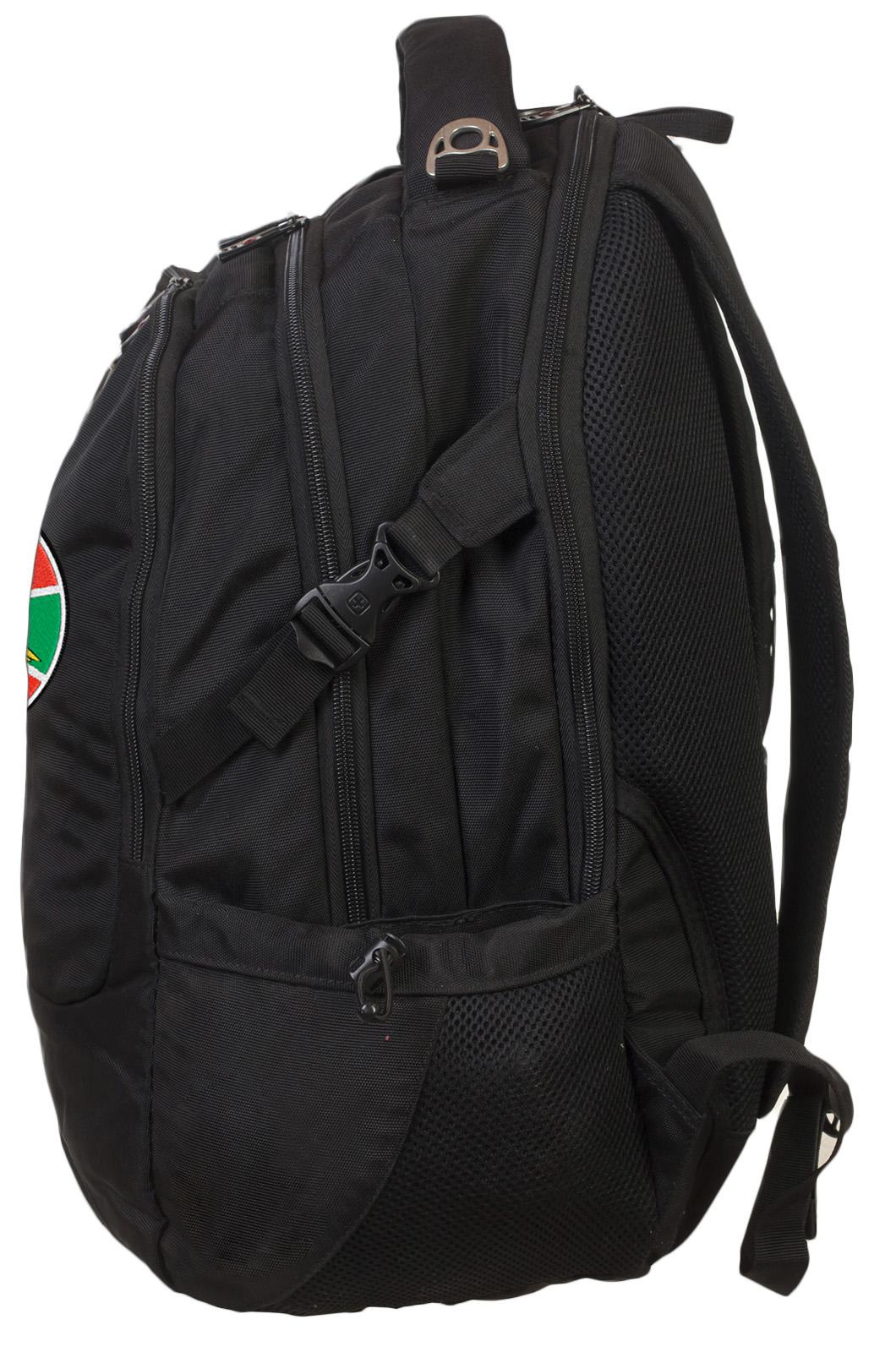 Практичный городской рюкзак с нашивкой Погранвойска - купить в Военпро