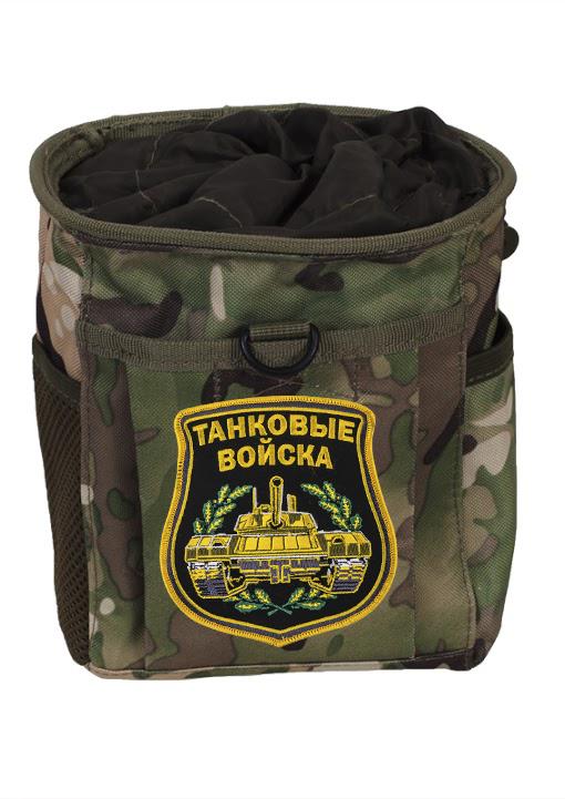 Практичный подсумок для фляги с нашивкой Танковые Войска