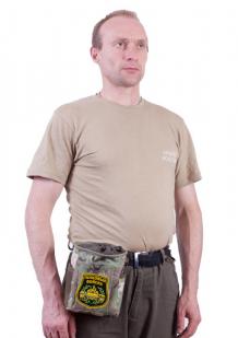 Практичный подсумок для фляги с нашивкой Танковые Войска - купить онлайн