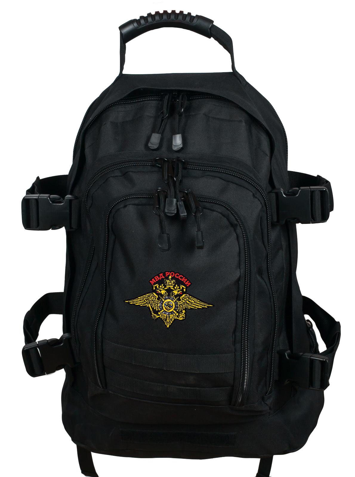 Практичный рюкзак с нашивкой МВД