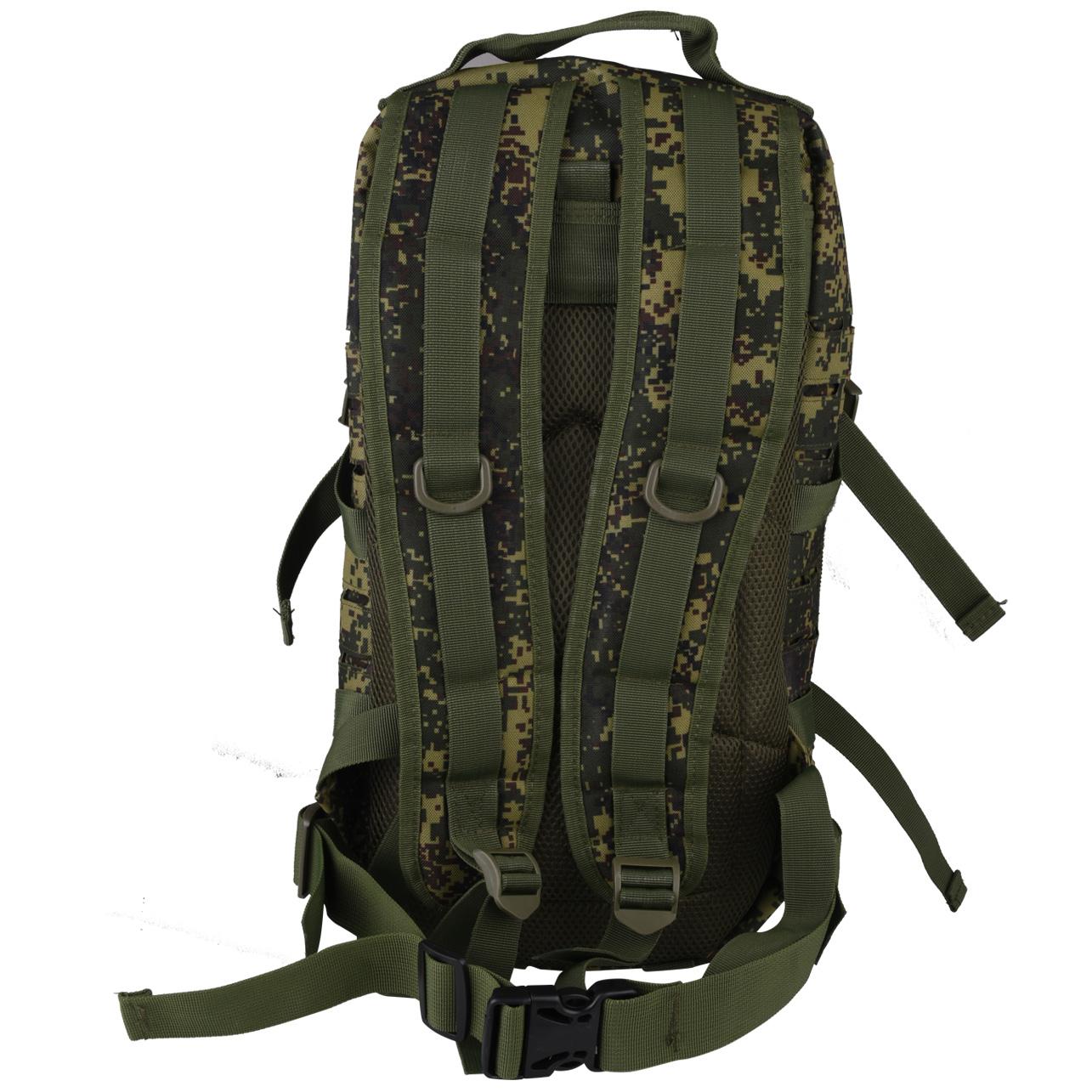 Купить практичный тактический рюкзак с нашивкой Росгвардия оптом или в розницу
