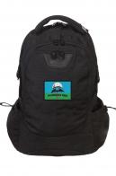 Практичный вместительный рюкзак с нашивкой Разведка ГРУ