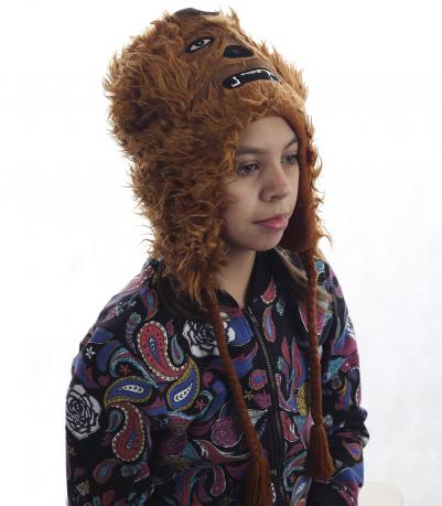 Прикольная детская шапка-зверюшка. ОЧЕНЬ теплая модель на флисе. Радуйте детей обновками, им понравится!